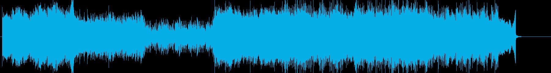 かっこいい雰囲気の現代的シンセEDMの再生済みの波形
