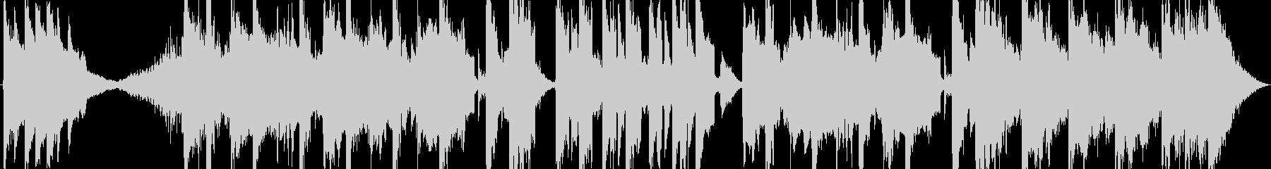 エスニック+不思議なマーチのんの未再生の波形