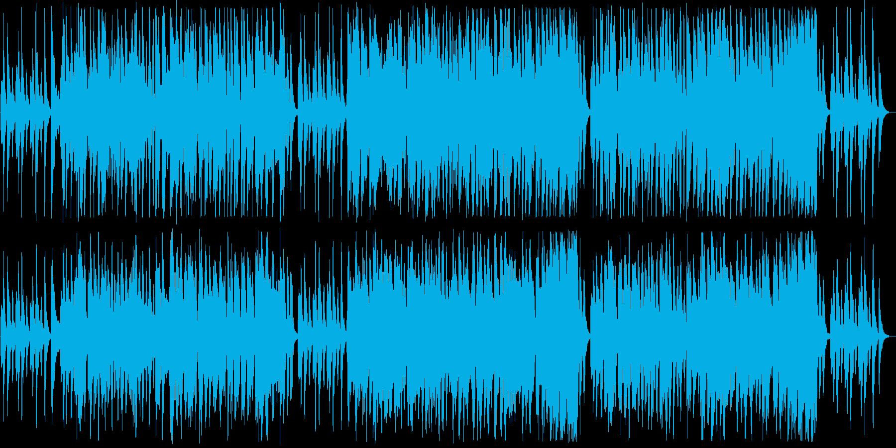 大人のムードがあるイージーリスニング曲の再生済みの波形