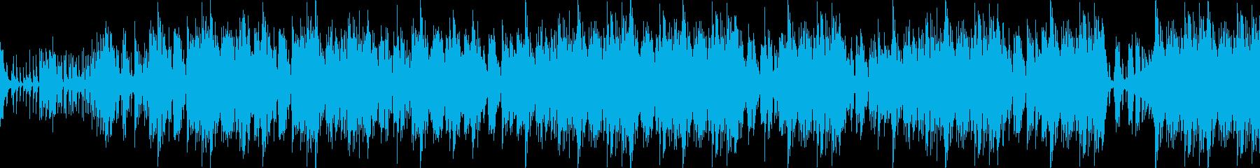 切迫した壮大なパーカスアンサンブルの再生済みの波形