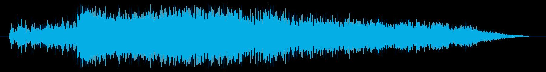 消火器:ロングバースト、フィズルアウトの再生済みの波形