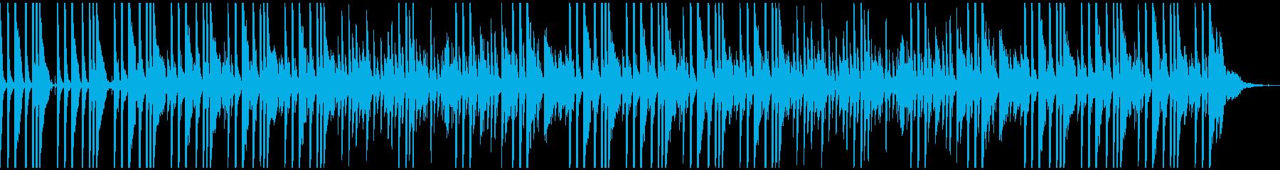ピアノメイン、未来的で浮遊感のあるテクノの再生済みの波形