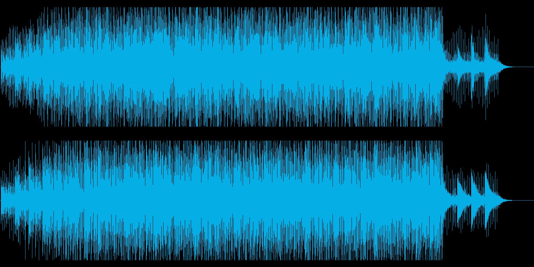 電子機器などのテクノロジー系映像に合うの再生済みの波形