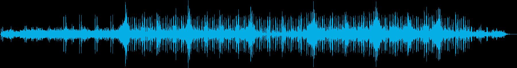 クールで神秘的なエレクトロミュージックの再生済みの波形