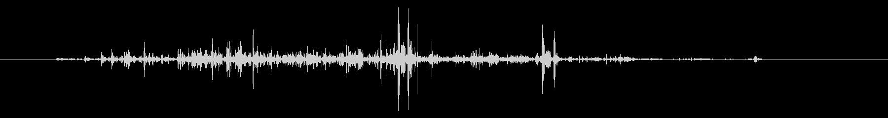 ネバネバ、ヌメヌメとした不気味な音B#3の未再生の波形