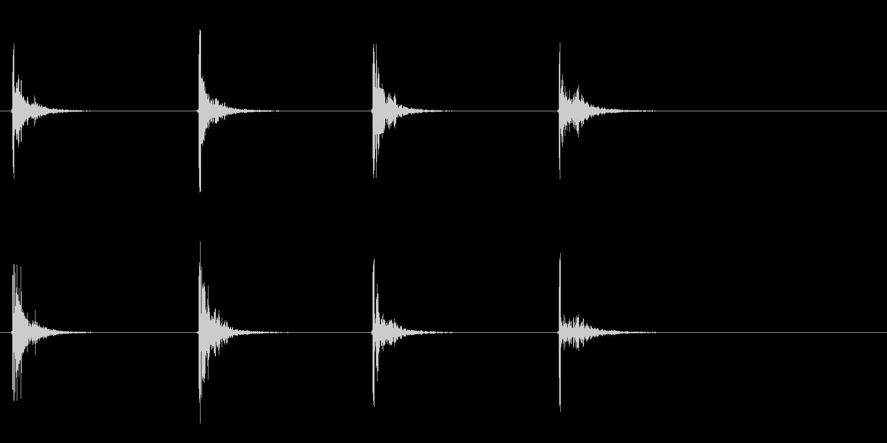 ミディアムシングルキャノンファイア...の未再生の波形