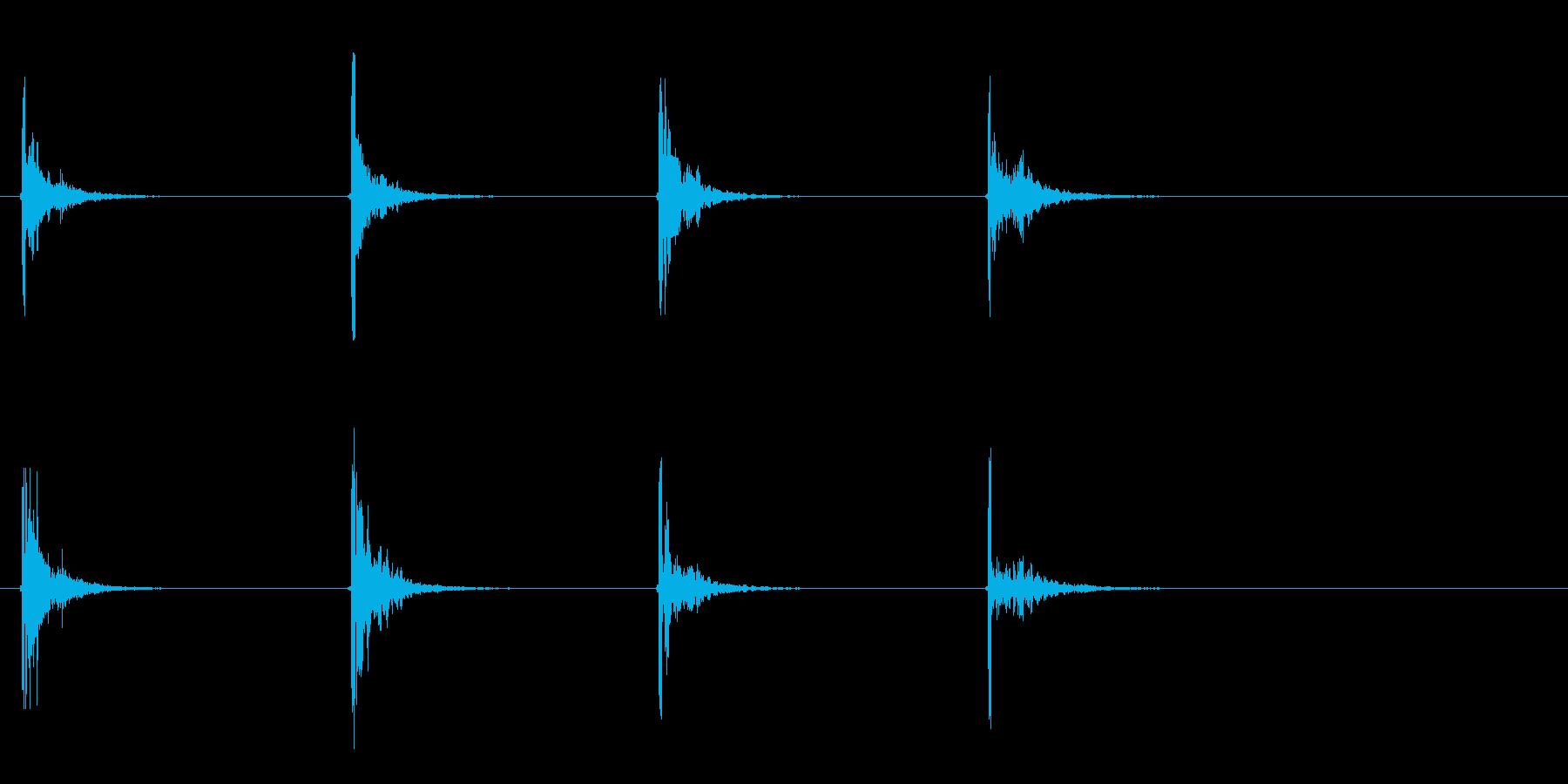 ミディアムシングルキャノンファイア...の再生済みの波形