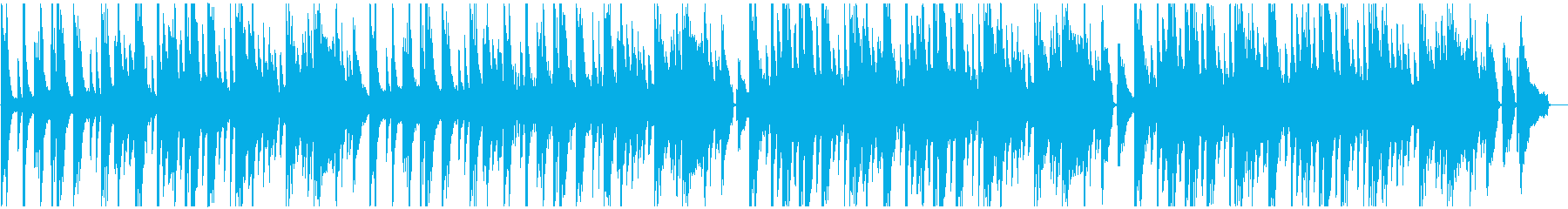 ピアノメイン、ゆったりとして情熱的な曲の再生済みの波形