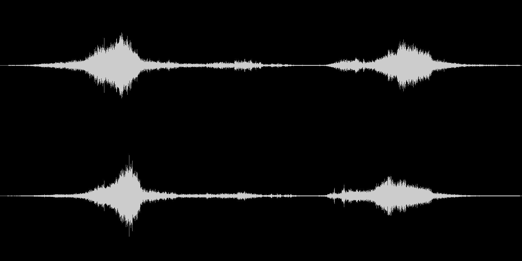 1978シェビーヴァン:高速でドラ...の未再生の波形