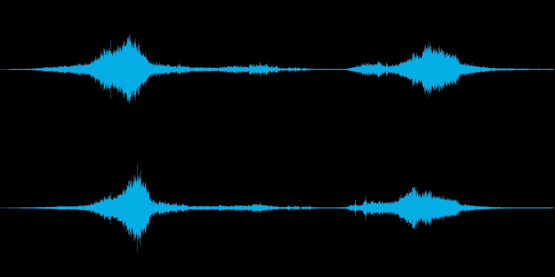 1978シェビーヴァン:高速でドラ...の再生済みの波形