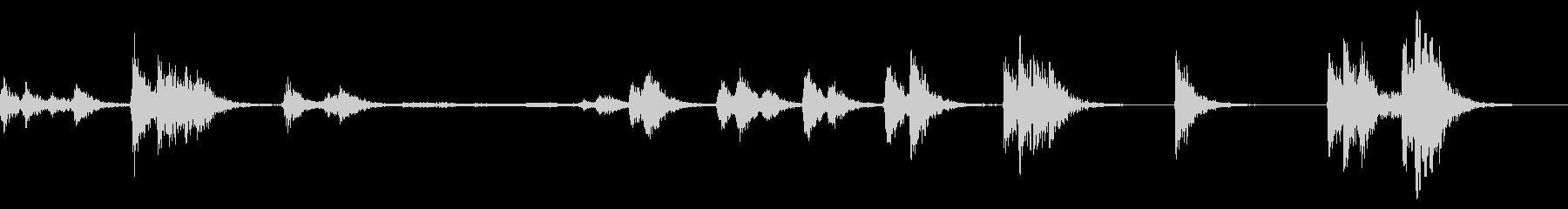 PAシステムマイク:スクレイプとヒ...の未再生の波形