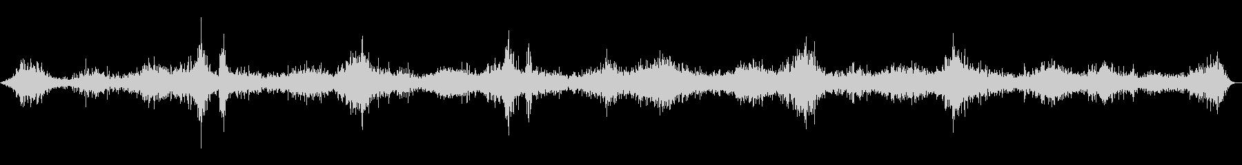 お米を研ぐ音(台所/炊事/ごはん)の未再生の波形