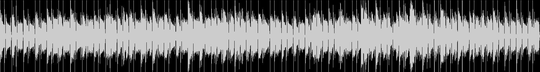 SAX ソロの怪しい雰囲気のループBGMの未再生の波形