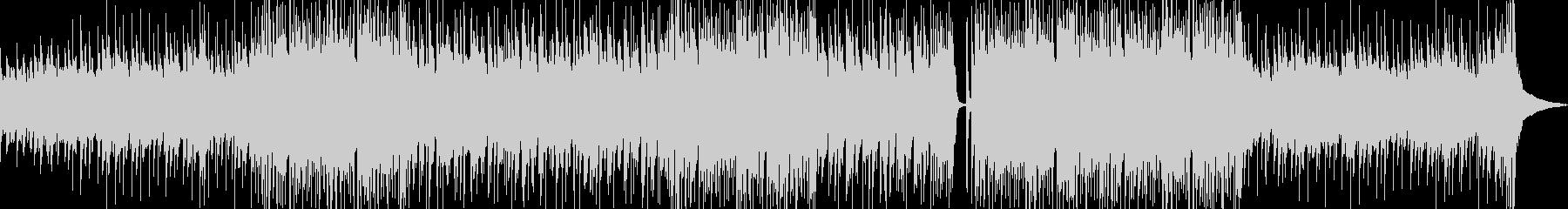 ピアノが印象的なバンドサウンドの未再生の波形