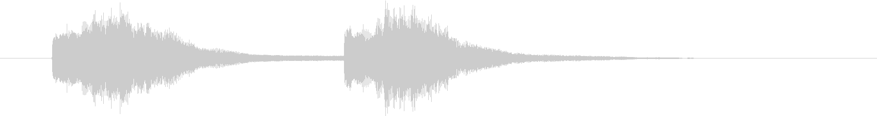 サウンドロゴ_企業系02の未再生の波形
