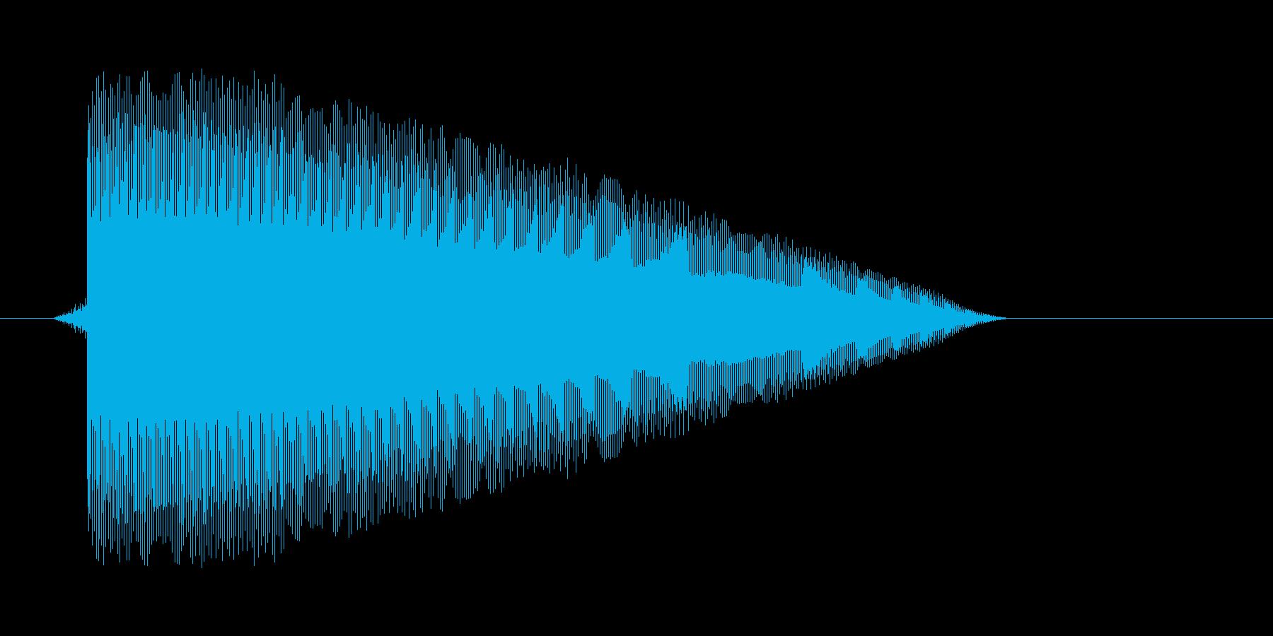ゲーム(ファミコン風)パワーアップ音_…の再生済みの波形