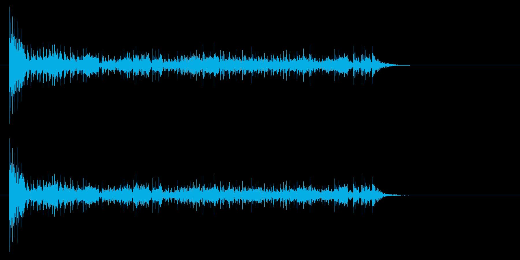 結果発表ドコドコ・ロール10秒シンバル無の再生済みの波形