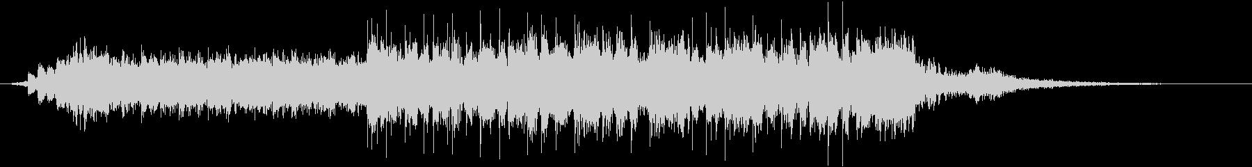 30秒で完結するクールでオシャレなBGMの未再生の波形
