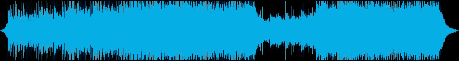 感動的なシネマティックの再生済みの波形