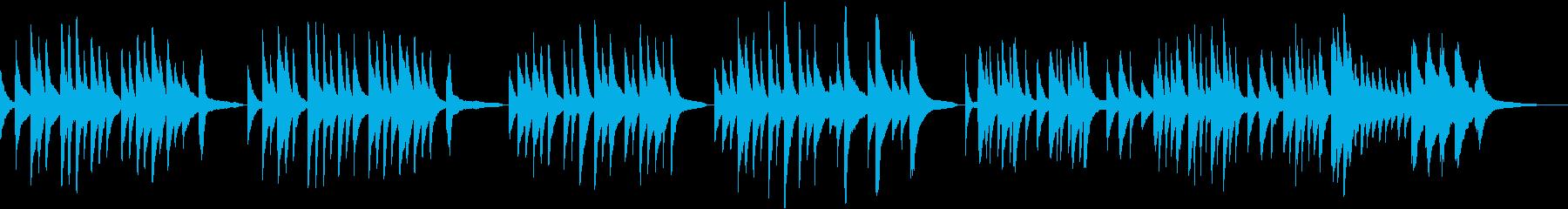 ソルヴェイグの歌【しっとりピアノ版】の再生済みの波形