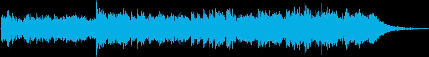 Pretty fantastic healing jingle's reproduced waveform