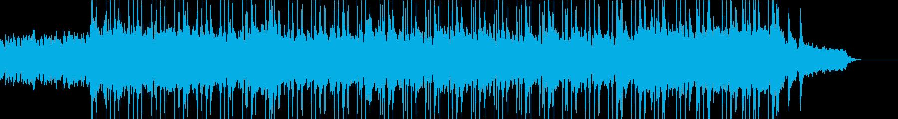 優しい気持ちになるBGMの再生済みの波形