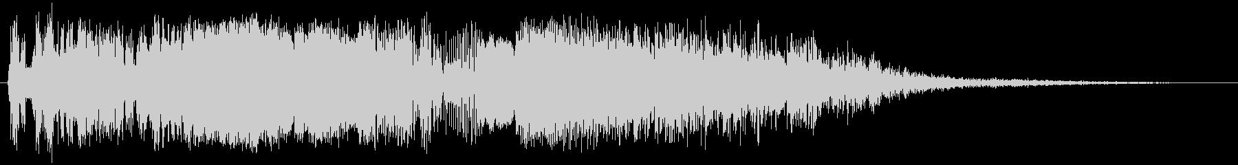 バックアップヒットの未再生の波形