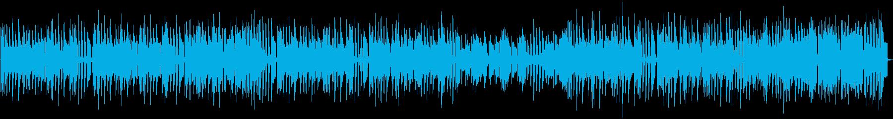 ピアノとアコギ可愛く癒される日常BGMの再生済みの波形