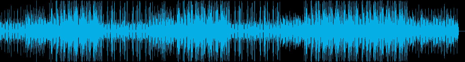 洋楽テイストのソウルフルなトラップビートの再生済みの波形