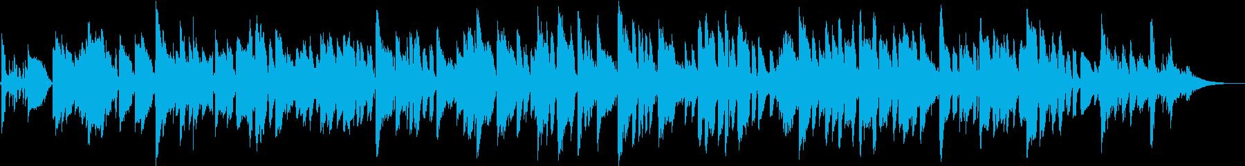 ふるさと ジャズワルツ リラックスギターの再生済みの波形