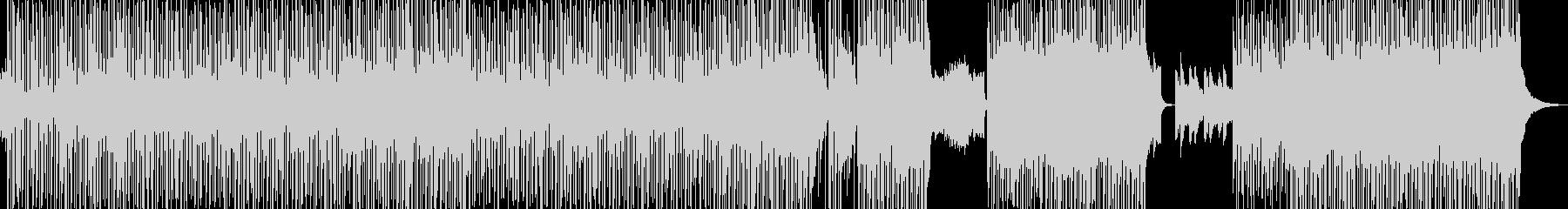 冷めた恋仲をイメージ・ピアノ控えめ構成の未再生の波形