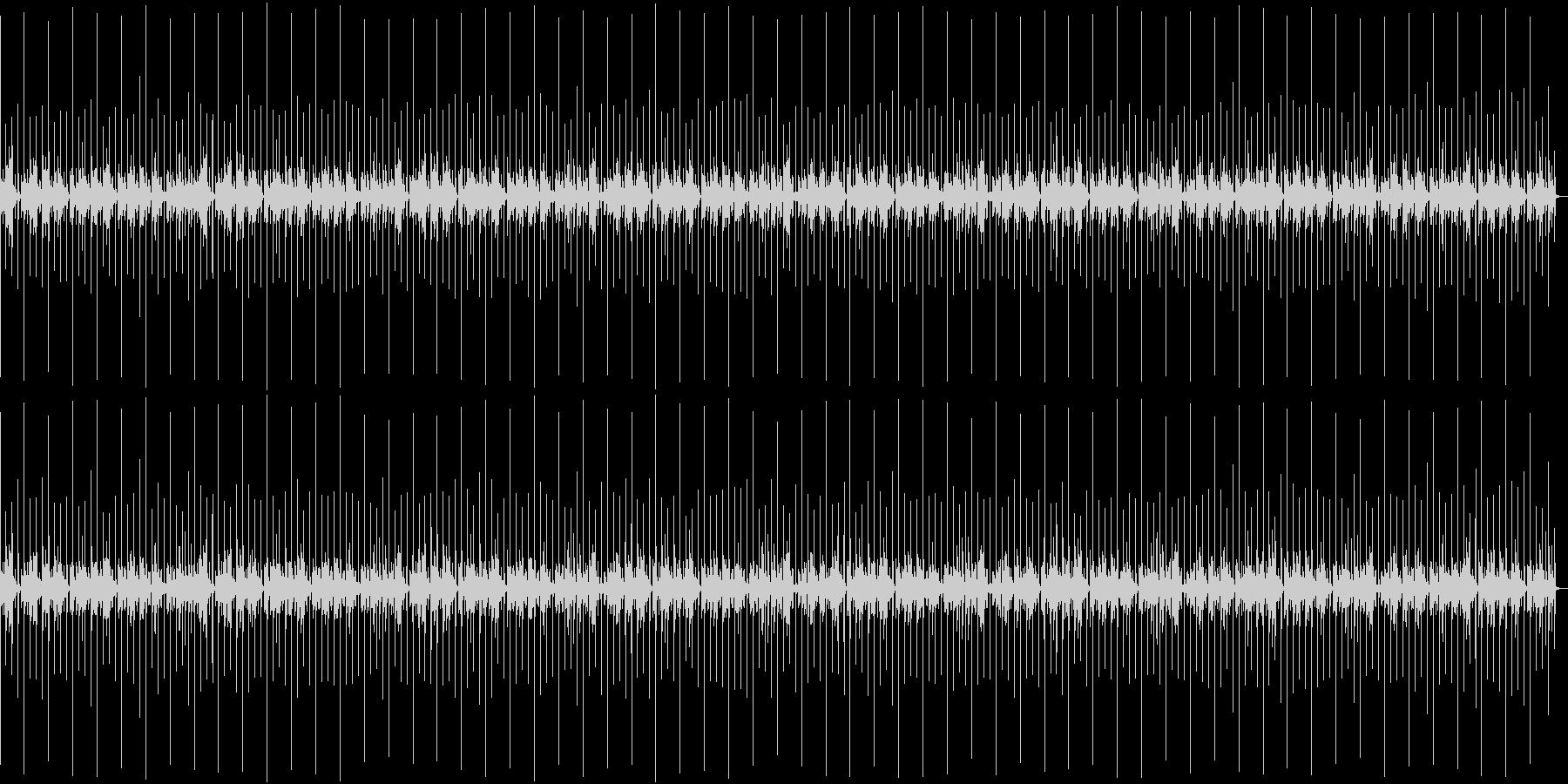 明るいラテン風の曲の未再生の波形