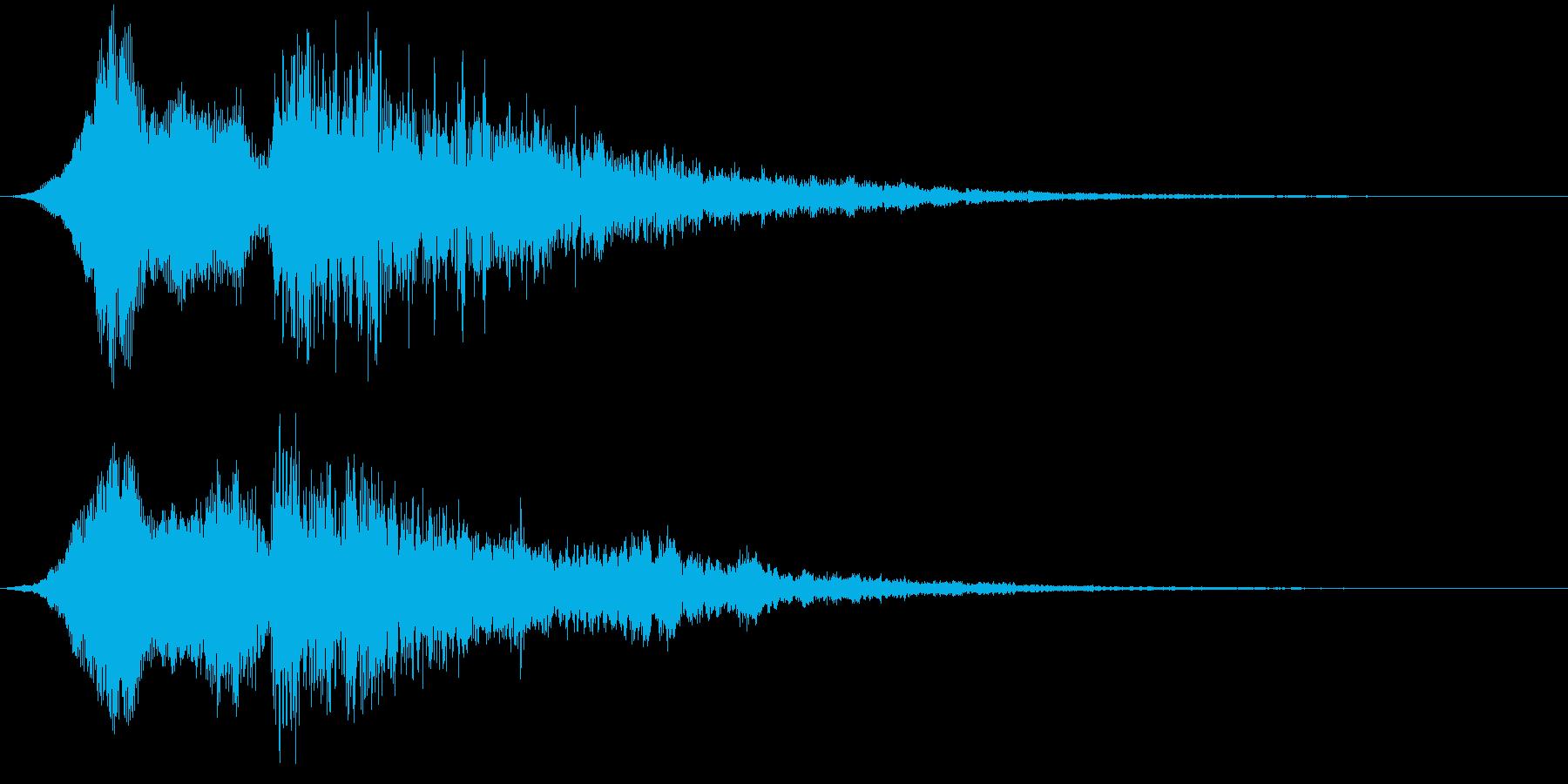 【映画・タイトル】ライザー_07の再生済みの波形
