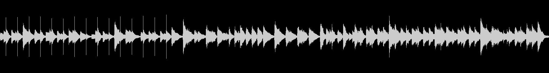 シンコペートピアノ、ブラシ、フィン...の未再生の波形