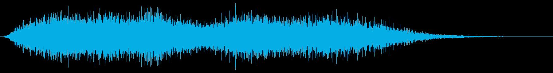 ビッグ・グリッティ・フーシュの再生済みの波形