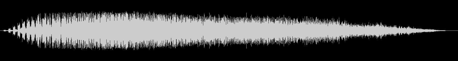 SPARK DISCHARGE、S...の未再生の波形