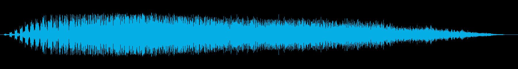 SPARK DISCHARGE、S...の再生済みの波形