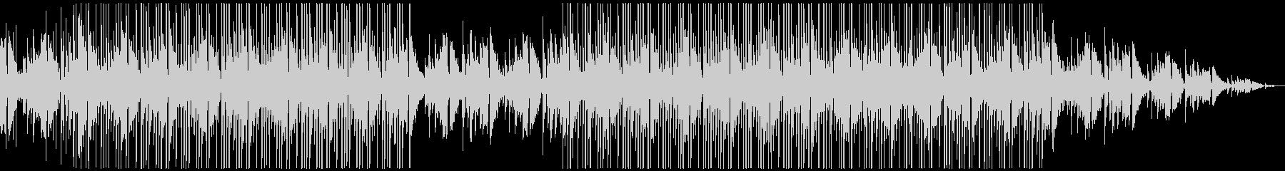 ジャジーなギターのチル系ヒップホップの未再生の波形