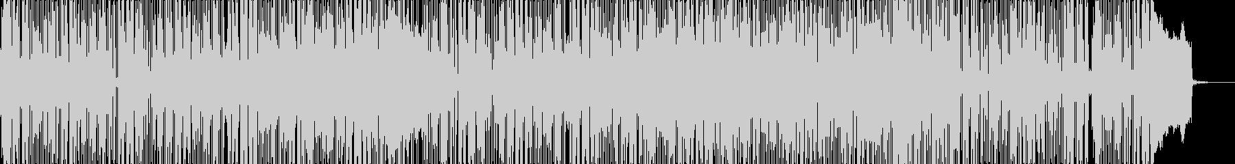 R&B風の切ない雰囲気のPopバラードの未再生の波形