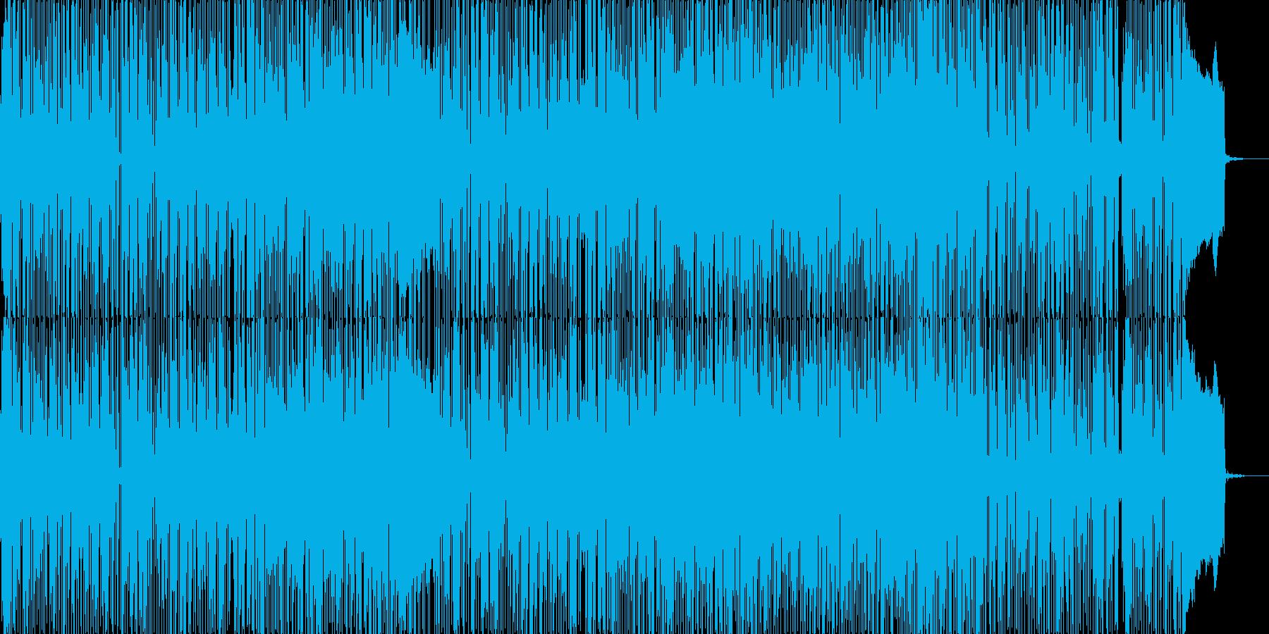 R&B風の切ない雰囲気のPopバラードの再生済みの波形