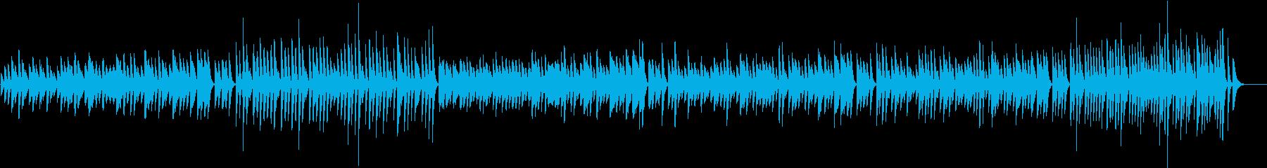 お料理動画に♪気楽な可愛いピアノBGMの再生済みの波形