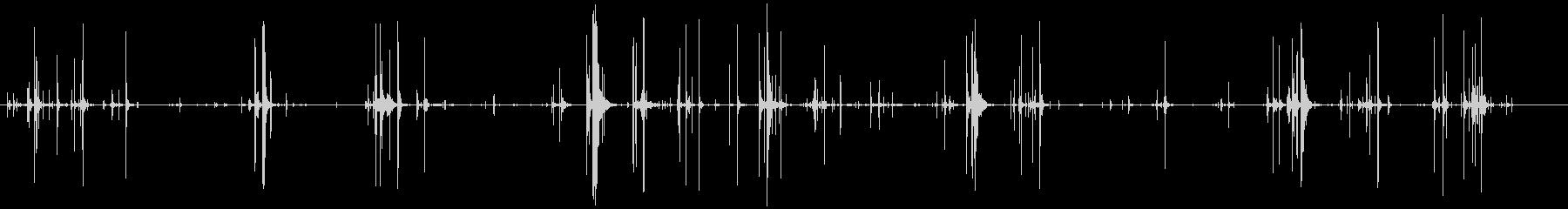 ヘビーアイスクラックリングの未再生の波形