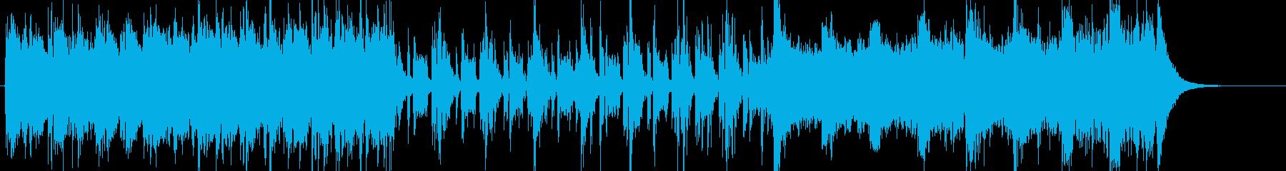 重厚感ある時代、歴史系サウンドトラックの再生済みの波形