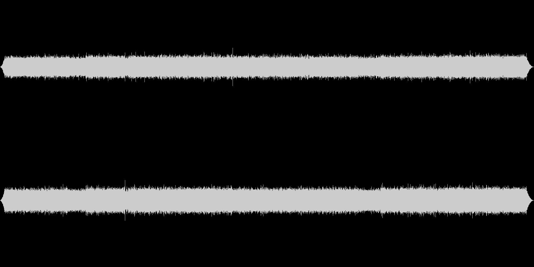 長野県小黒川渓流の音素材の未再生の波形