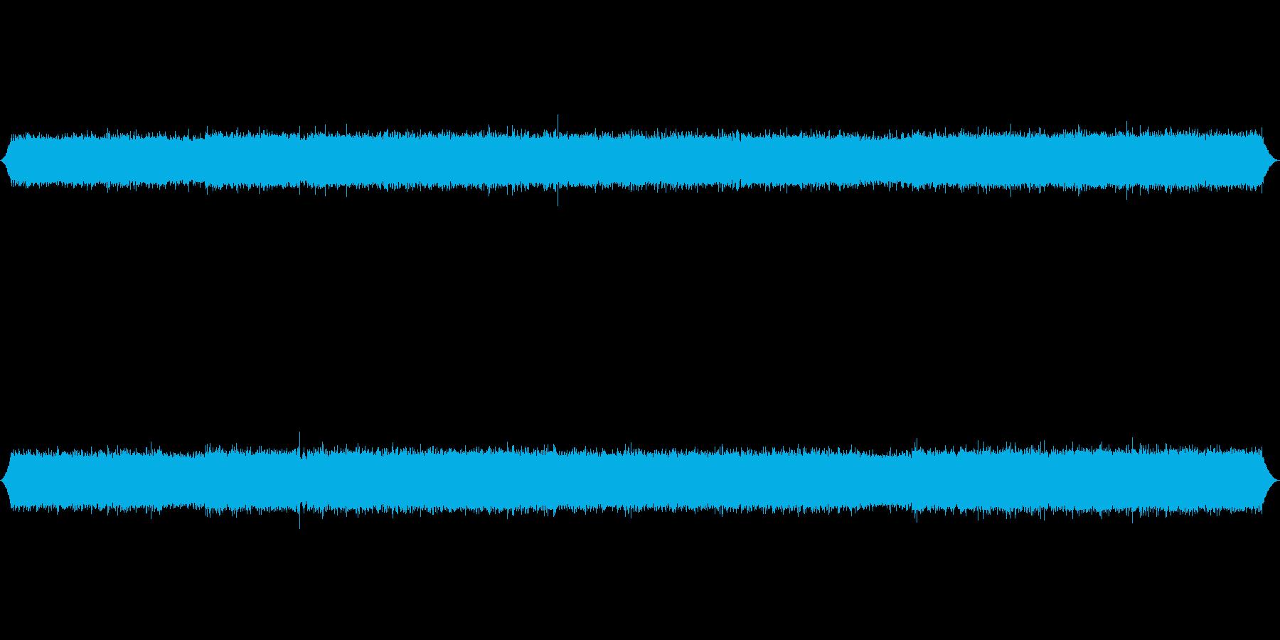 長野県小黒川渓流の音素材の再生済みの波形