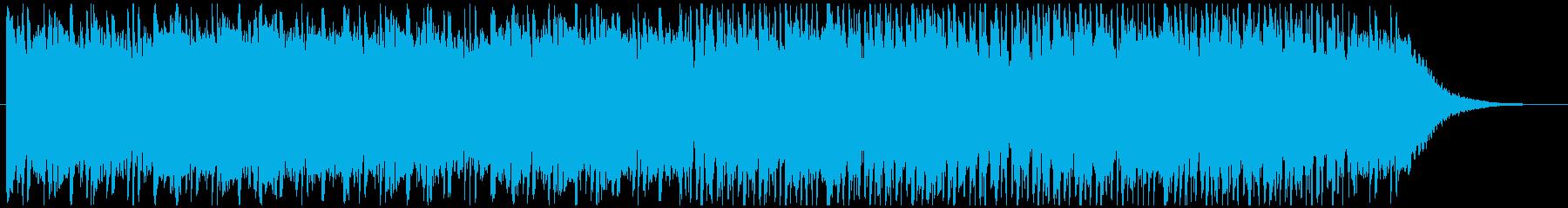 電気研究所ポジティブなテーマ。の再生済みの波形