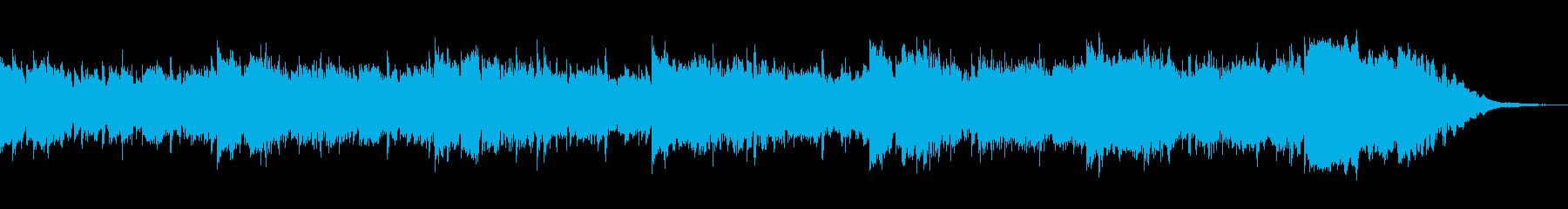 ウッドテラスが似合うロハス・自然派BGMの再生済みの波形