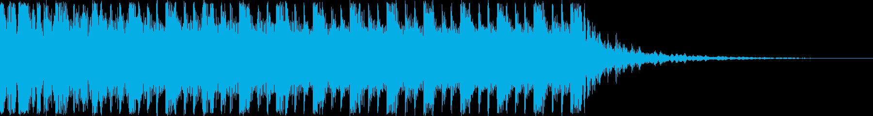 クイズに使えそうなシネマティックジングルの再生済みの波形