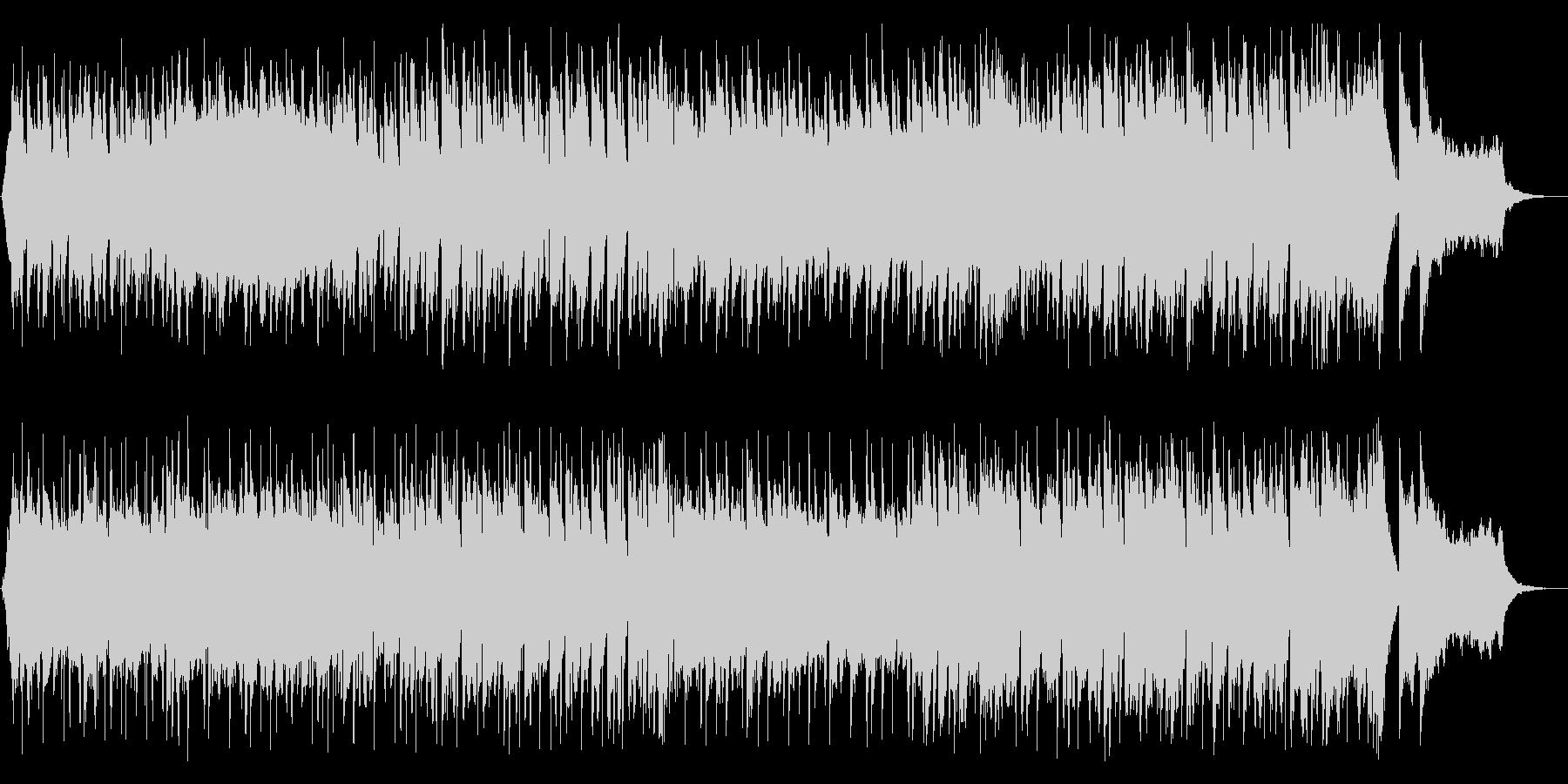 明るく爽快なオーケストラポップスの未再生の波形