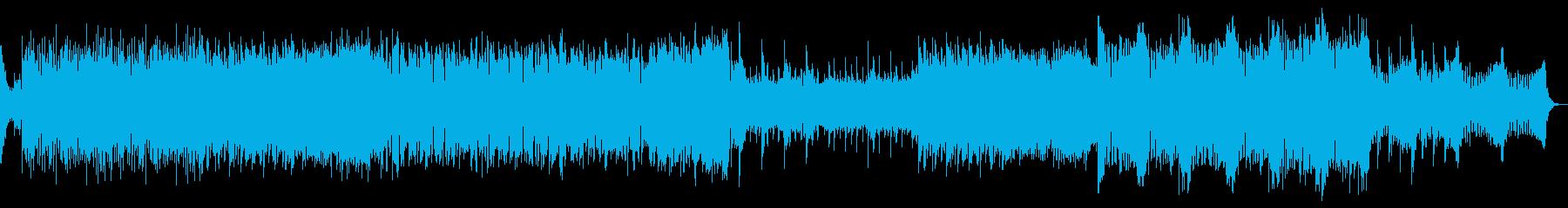 GrowlBassが激しいDubStepの再生済みの波形